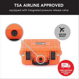 HD Series Utility Camera & Drone Hard Case 3530 - Hi Vis Orange
