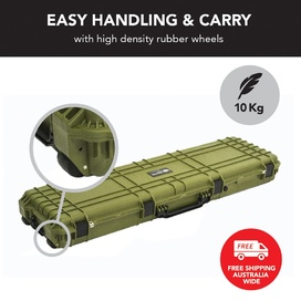 HD Series Rifle Hard Gun Case XL 2540 - Olive Drab