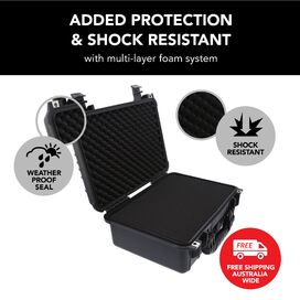 HD Series Utility Camera & Drone Hard Case - Black