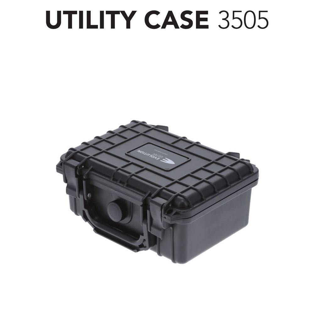 HD Series Utility Hard Case 3505 for Camera, Ammunition and Sensitive Equipment