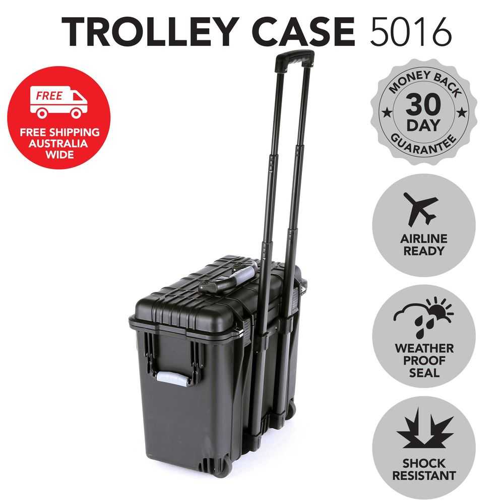 Trolley Hard Case for Lightings, Audio Devices, DJ and Sensitive Equipment