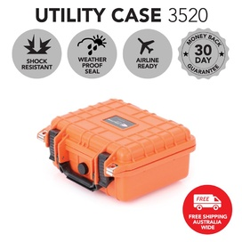HD Series Utility Camera & Drone Hard Case 3520 - Hi Vis Orange