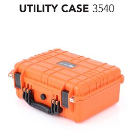 HD Series Utility Camera & Drone Hard Case - Hi Vis Orange