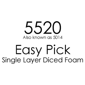 5520 Pick & Pluck Single Foam Layer