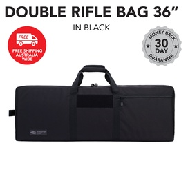 "36"" Double Rifle Bag - Black"