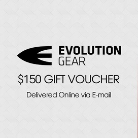 $150 Evolution Gear Gift Voucher