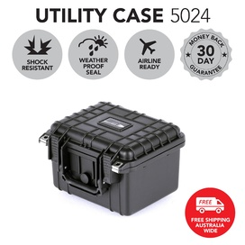 HD Series Utility Hard Case for Cameras & Drones 5024 - Black