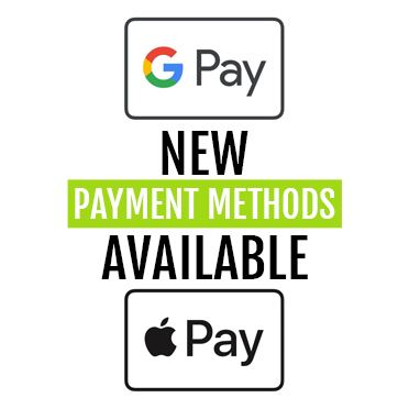 Introducing Google & Apple Pay Payment Options